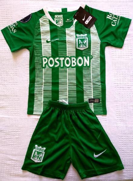 Nuevo uniforme atlético nacional niños logo copa