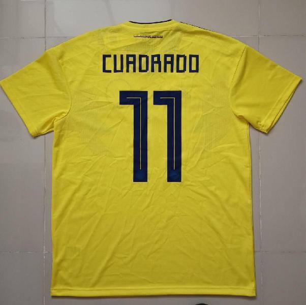 Camiseta juan guillermo cuadrado, selección colombia 2017