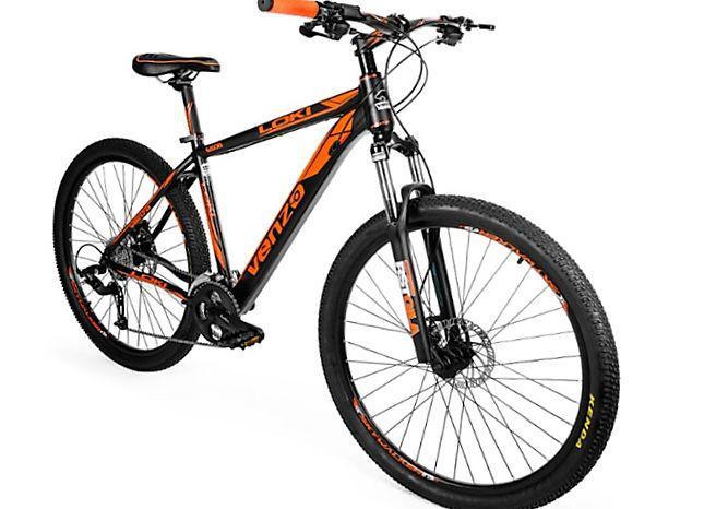 "Bicicleta venzo todo terreno rin 27.5"" freno hidráulico"