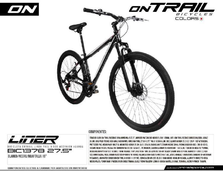 Bicicleta nueva en aluminio talla 29