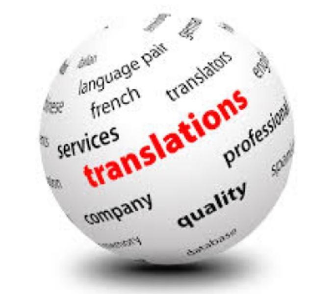 Traducciones básicas y técnicas español-inglés