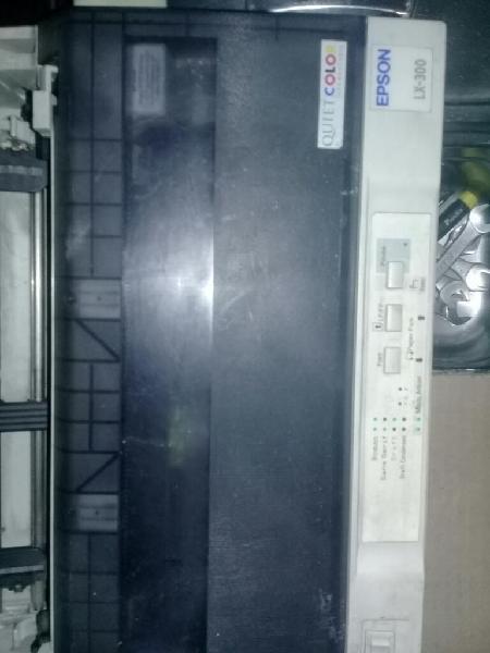 Impresora epson lx 300 formas continuas.