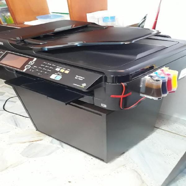 Impresora Epson Workforce Wf 7610