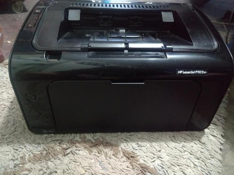 Impresora láser hp 1102w