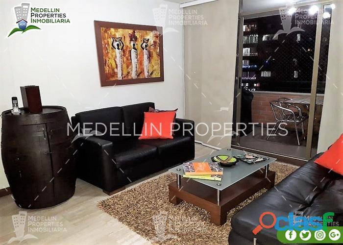 Apartamentos amoblados baratos en el poblado cod: 5017