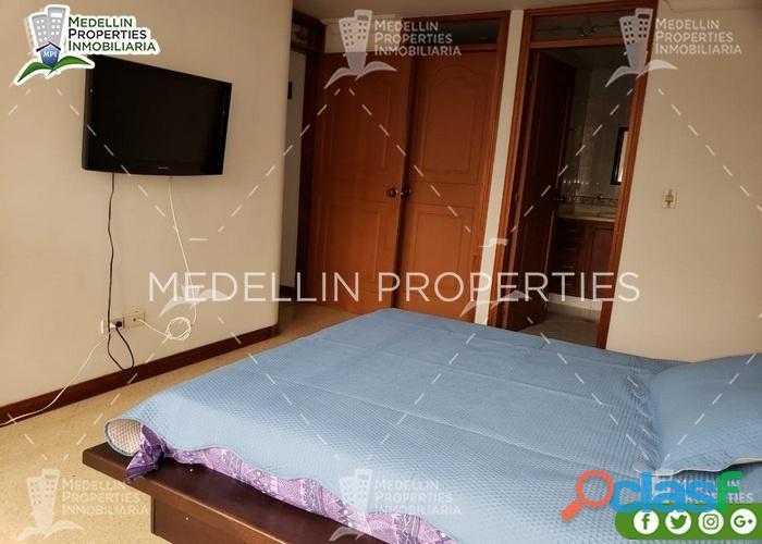 Apartamentos amoblados baratos en el poblado cod: 5025