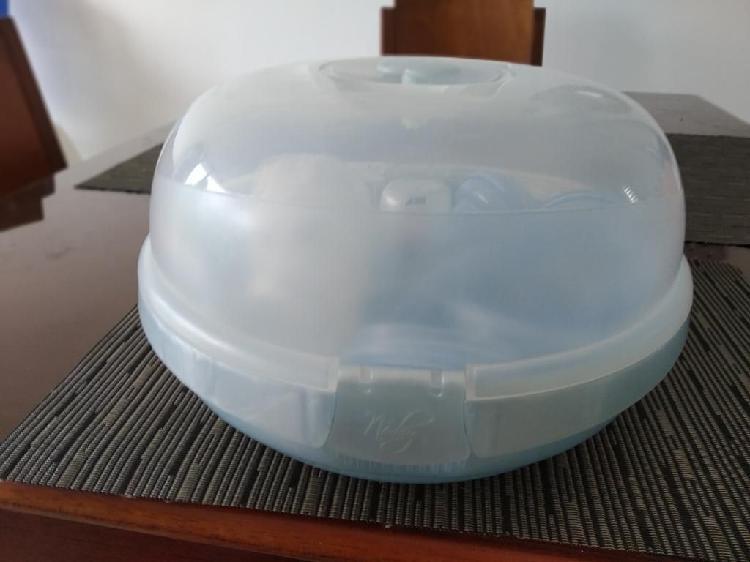 Esterilizador teteros en microondas nuby