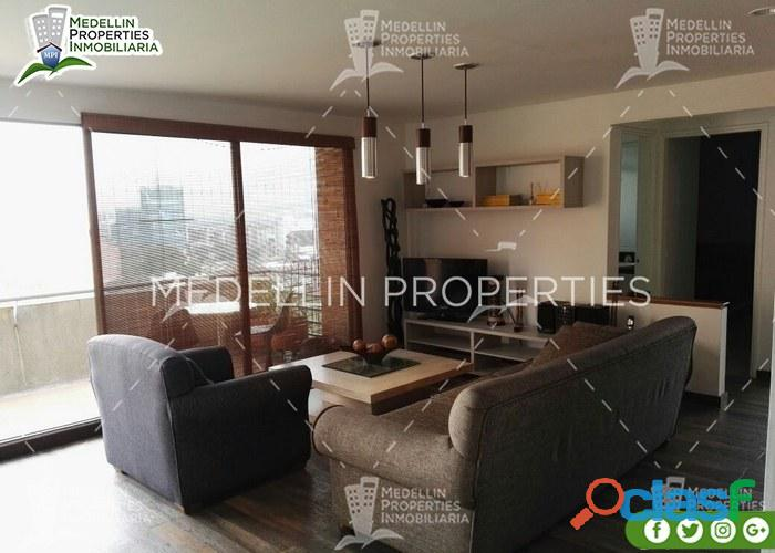 Apartamentos y casas vacacional el poblado cod: 5033...........