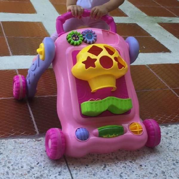 Andador caminador y carrito montable