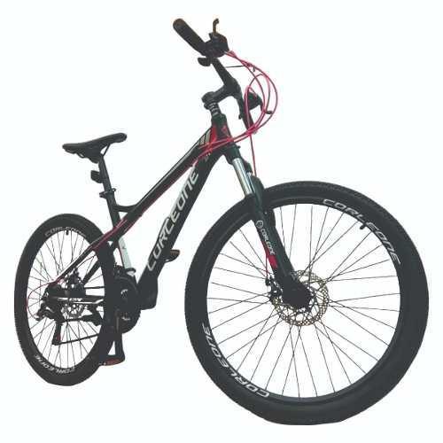 Bicicleta aluminio shimano 21 vel todo terreno susp hidr +ob