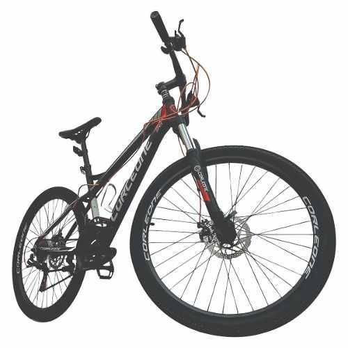 Bicicleta todoterreno aluminio shimano 21 vel susp hidr + ob