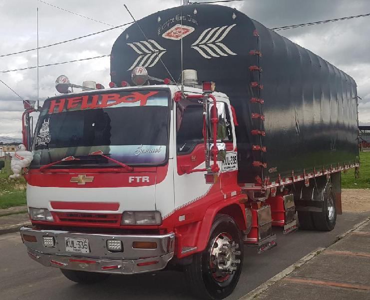 Camion chevrolet ftr mod 2007