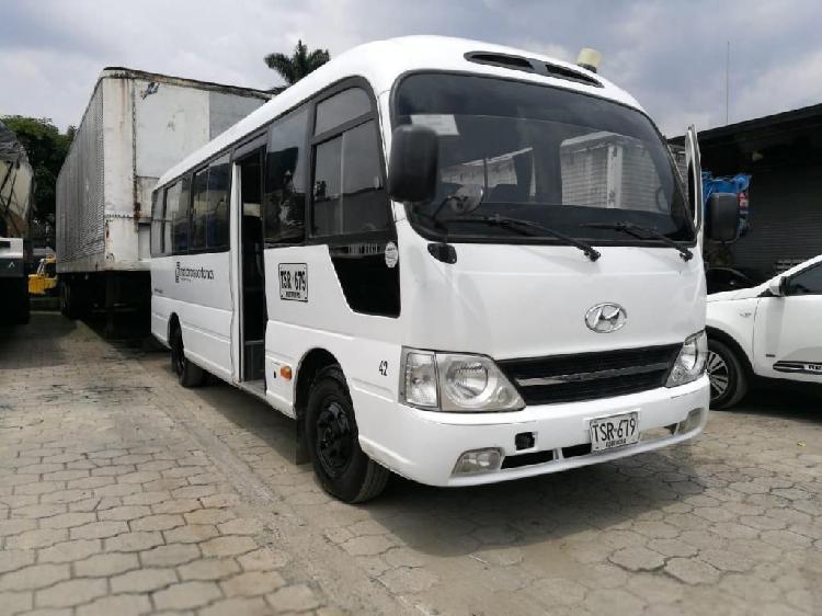 Se vende bus hyundai county modelo 2014