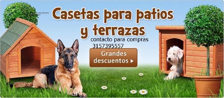 Casa para perros mediana fabricante