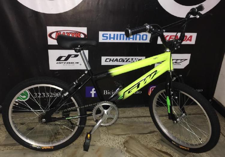 Bicicleta cross rin 20 totalmente nueva