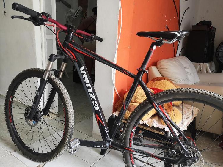 Bicicleta mtb venzo amphion 29 aluminio