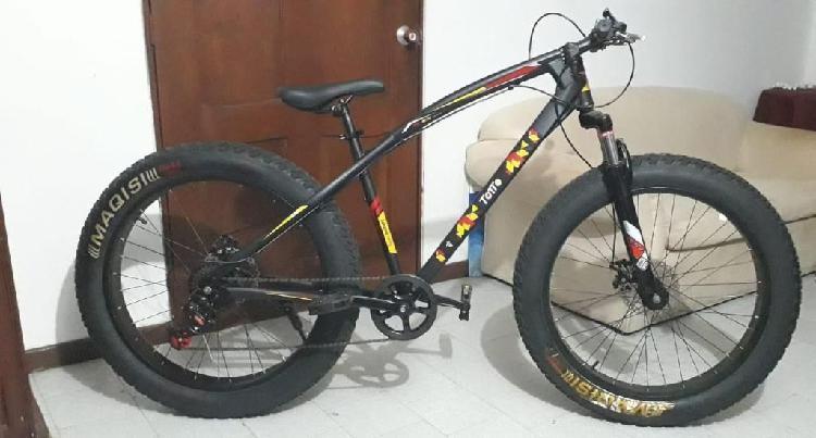 Vendo cambio bicicleta fat bike
