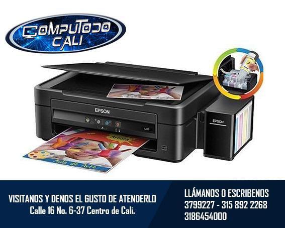Impresora, copiadora y escaner epson l380