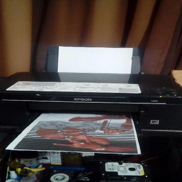 Impresora multifuncional epson l200