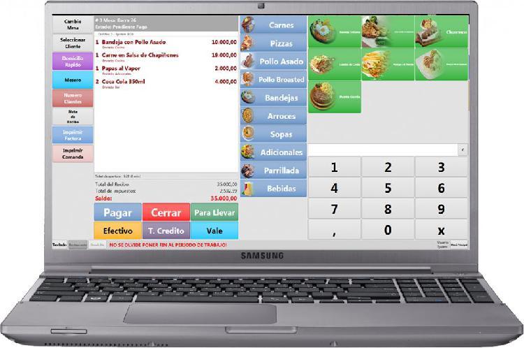 Software pos ventas facturacion por computador inventario