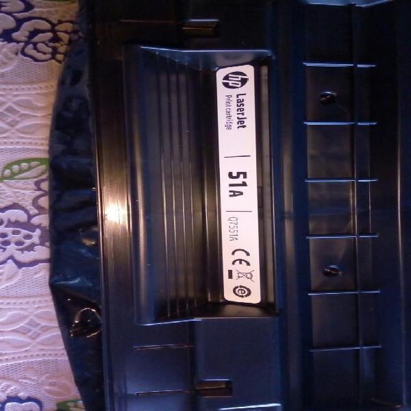 Vendo 1 toner nuevo para impresoras hp 51a remanofacturado