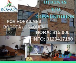Oficinas 15 mil pesos por hora