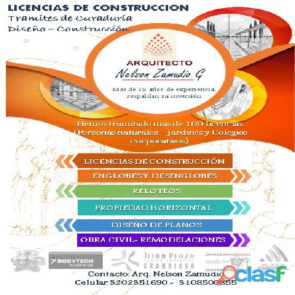 Licencias de construcción bogota arquitectos e ingenieros