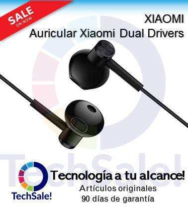 Audifonos xiaomi dual drivers calidad de sonido garantia 90
