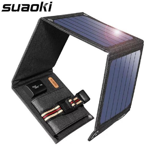 Cargador solar 14 w 5 v salida usb panel