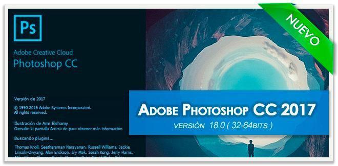 Adobe photoshop cc 2017 multilenguaje x64 bits español win