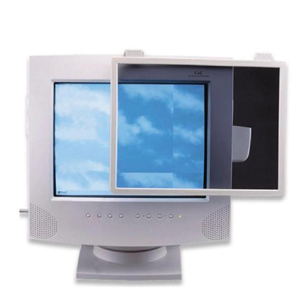 Filtro cristal pantalla proteje tus ojos radiacion monitor