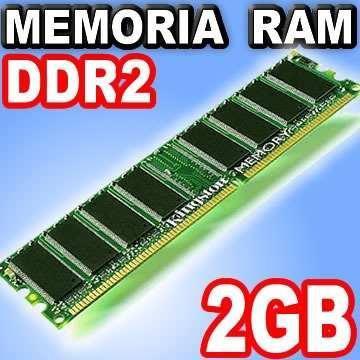 Memoria ddr2 2gb 240p nonecc marcas varias