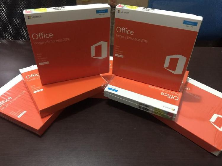 Office hogar y empresas 2016 (home & business)