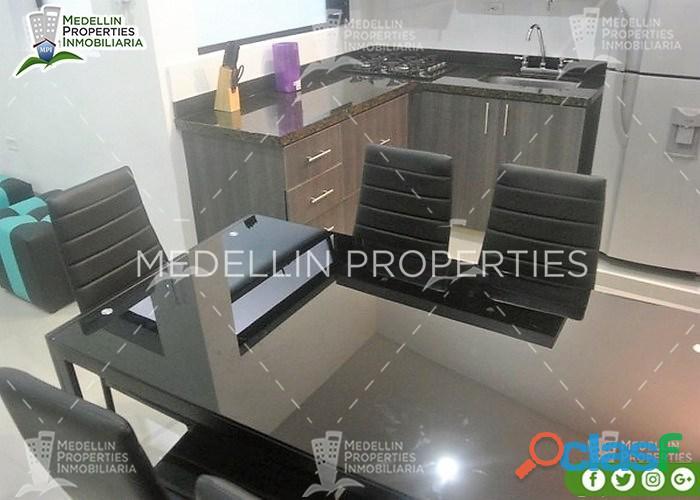 Apartamentos Amoblados en Alquiler Medellín Cód: 4574