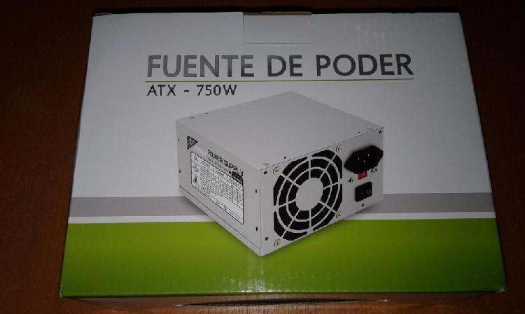 Fuente de poder atx750w jaltech