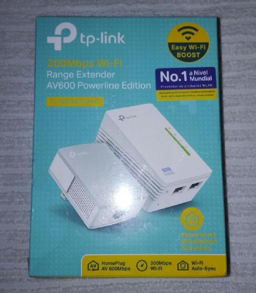 Kit extensor wifi powerline tplink tlwpa4220 kit