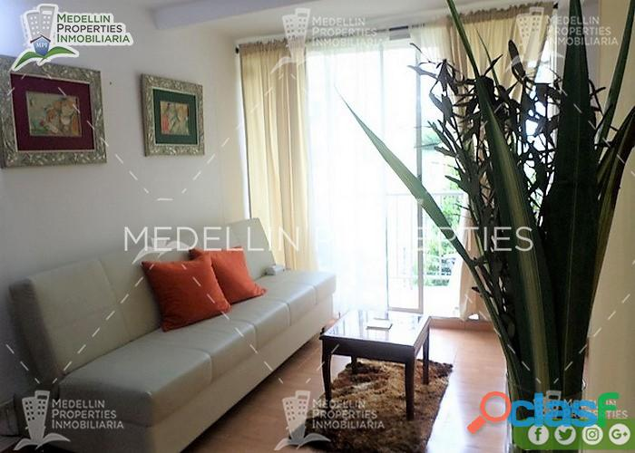 Alquiler Temporal de Apartamentos en Medellín Cód: 4537