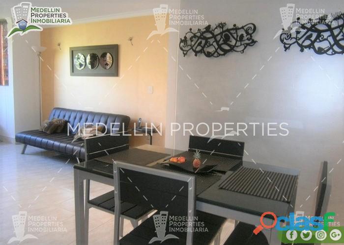 Apartamentos Amoblados en Alquiler Medellín Cód: 4528