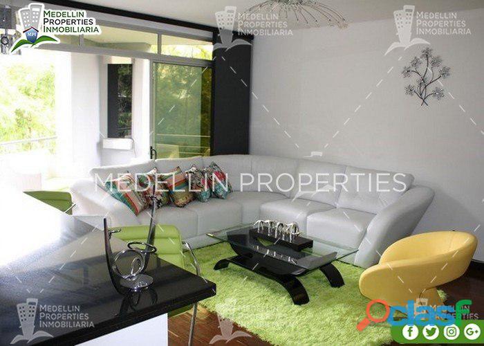Apartamentos Amoblados por Meses en Medellín Cód: 4488