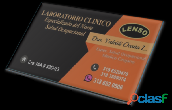 Médico ocupacional, lenso ltda