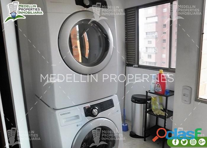 Apartamentos Amoblados en Alquiler Medellín Cód: 4381
