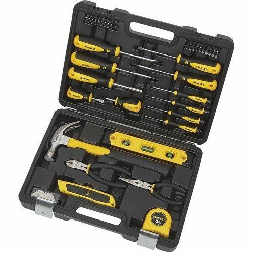 Set herramientas manuales de 68 piezas stanley con estuche