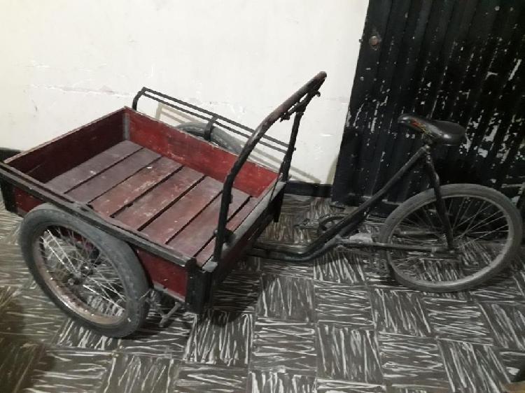 Triciclo barato adaptado para mayor carga, ruedas de moto