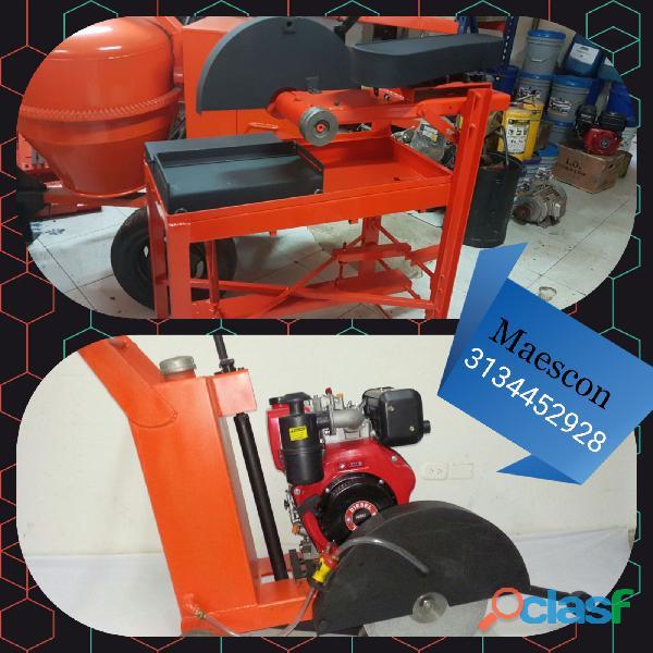 Cortadora de piso, cortadora de ladrillo para construcción