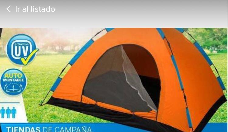Carpa Camping 3 Personas Abre Facil