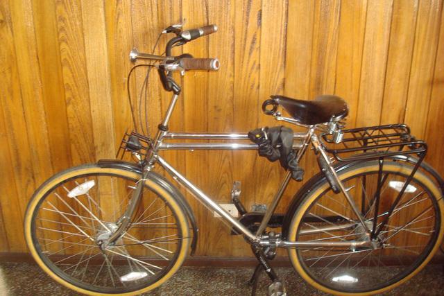 Bicicleta turismo de lujo