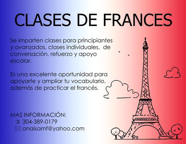 Clases particulares de francés en bogotá.