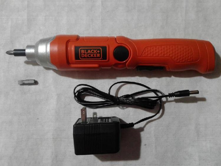 Destornillador inalámbrico 3.6v black decker 9036