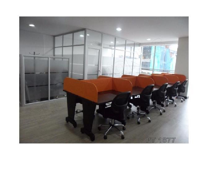 Escritorios operativos,call center muebles oficina