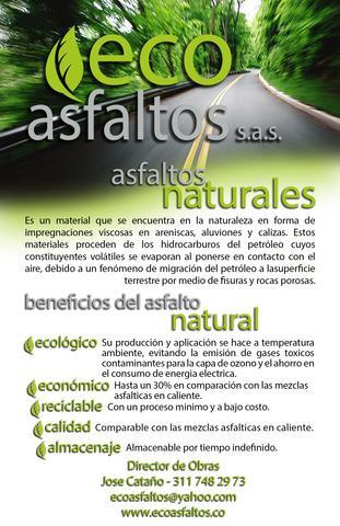 Eco asfaltos - constructora